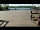 Прогулочная площадка крутить ката на Семёновском озере между мемориалом мужества Мурманчан и набережной. Мурманск