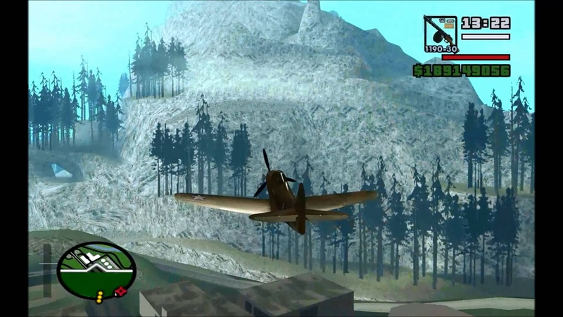 WWII aircraft sounds for GTA San Andreas