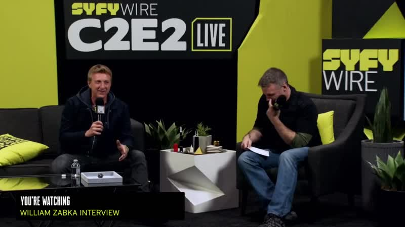Кобра-Кай 2 Сезон / Cobra Kai William Zabka On A Karate Kid ¦ C2E2 2019 ¦ Chicago Comic Entertainment Expo