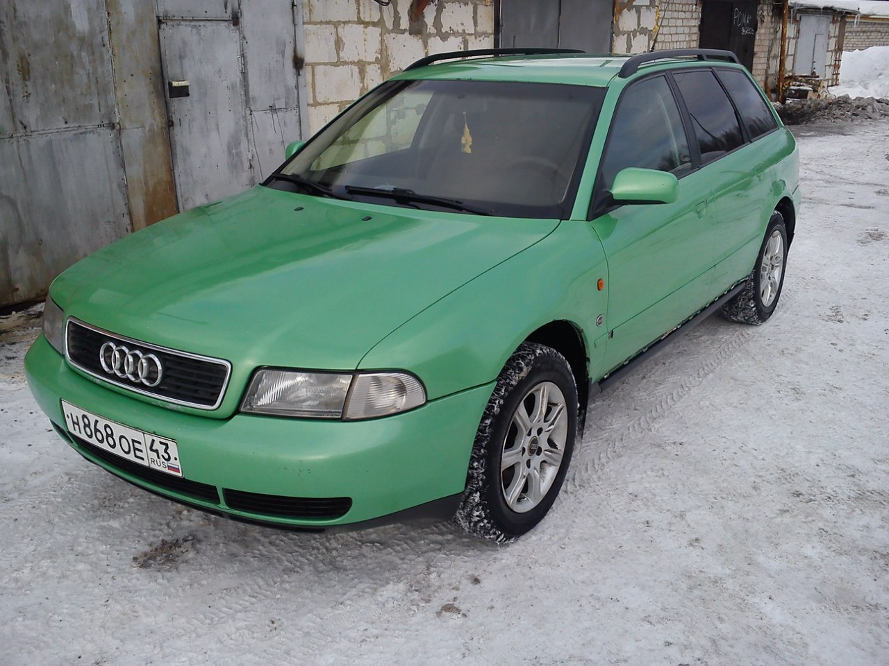 "Audi A4 Avant -""Авдотья"" ZajdPYZoQ5E"
