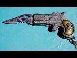 Моя странная находка - игрушечный ножик брелок в форме пистолета