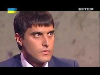 Борислав Берёза («Правый Сектор») против Николая Левченко («Партия Регионов») в прямом эфире телепрограммы «Чёрное зеркало» (Украина, май, 2014)