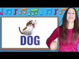 Phonics songs for letters D, E, F Signing for Babies ASL Letter Sounds Patty Shukla