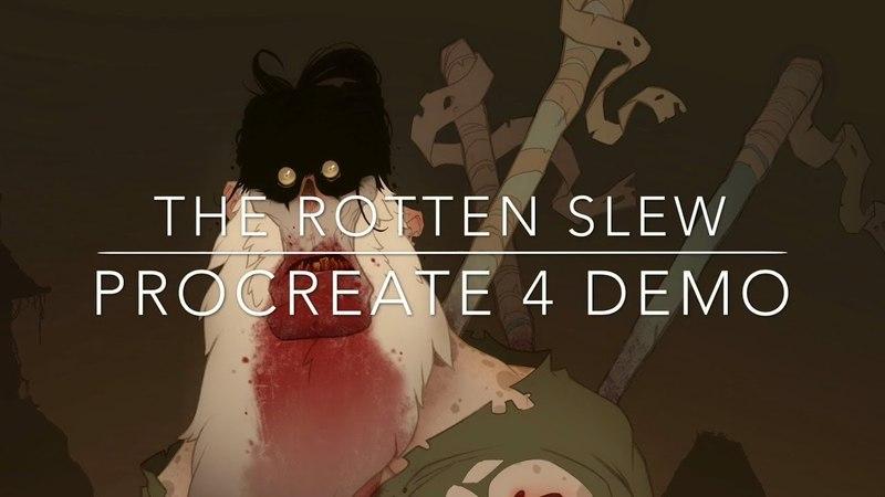 The Rotten Slew - Procreate 4 Demo