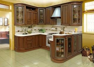 Кухонные гарнитуры глянцевые