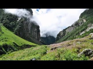 Valley of Flowers Time lapse (Uttarakand, India)
