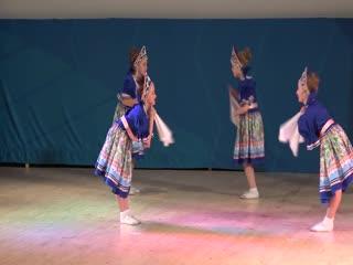 Образцовый коллектив ансамбль танца