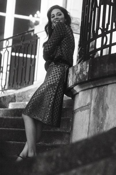 Красотка Марион Котийяр в фотосессии для Vogue Paris Фото Лахлана Бэйли
