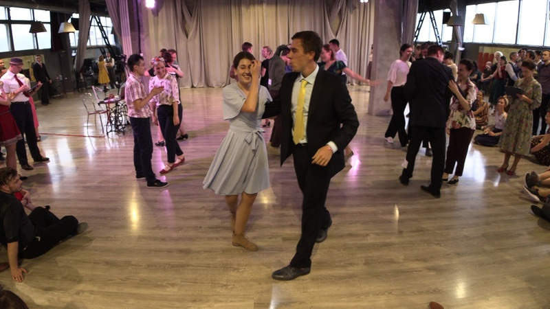 Lindy Hop Strictly Prelims Heat 2 — Sultans of Swing 2018