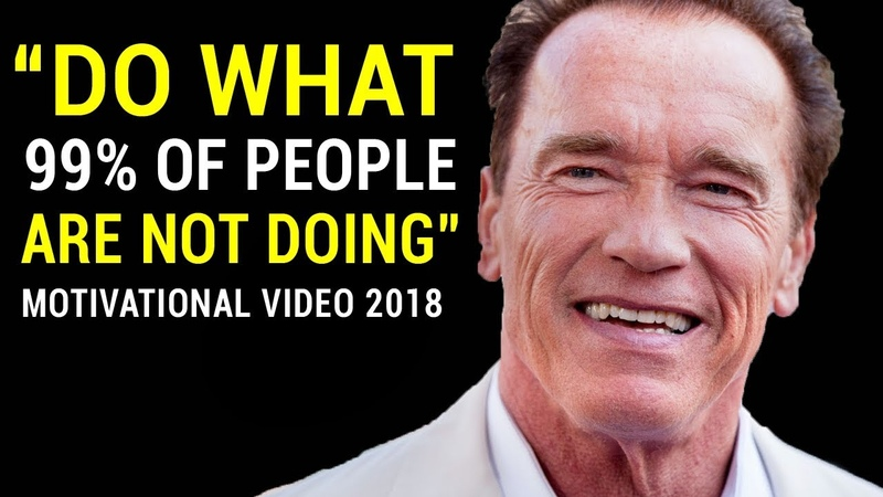 Arnold Schwarzenegger's Life Advice Will Change Your Future (MUST WATCH)