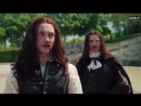 George swings the sword in a scene from the upcoming s3 of Versailles.