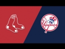 ALDS / 08.10.18 / BOS Red Sox @ NY Yankees (Game 3)