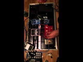 Тест Roland TR-505 (1986 г.) А. Титова через мой педалборд