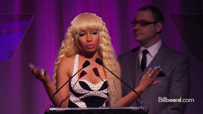 «Восходящая звезда Billboard - Ники Минаж» (Billboard, 2011) (HD качество)