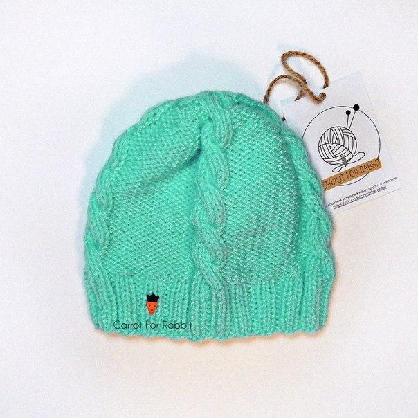 Вязанные шапочки для малышей на весну.