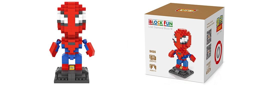 "Конструктор LOZ Diamond Block iBlock Fun ""Человек-паук"" 9456"