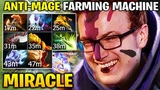 MIRACLE ANTI MAGE FARMING MACHINE 600 LAST HIT