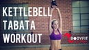 25 Minute Kettlebell Tabata Workout for Fat Burning and Strength