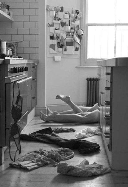 Фото на кухне вдвоем