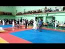 Соревнования по каратэ бой за 1 и 2 место