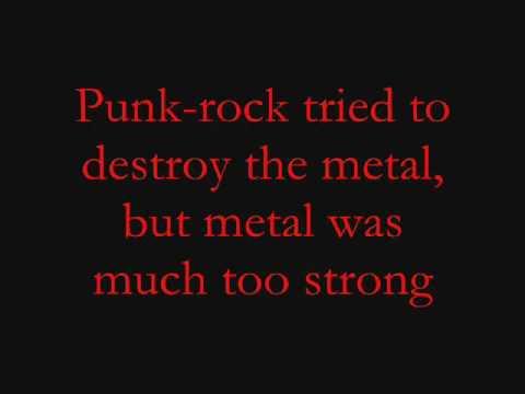 The Metal Tenacious D Lyrics