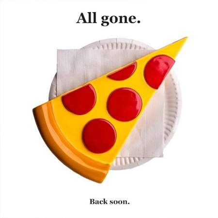 NONCENSE on Instagram N2 Pizza All gone Back soon porcelain handmade fashion graphics sneakers handcrafted apparel ceramics