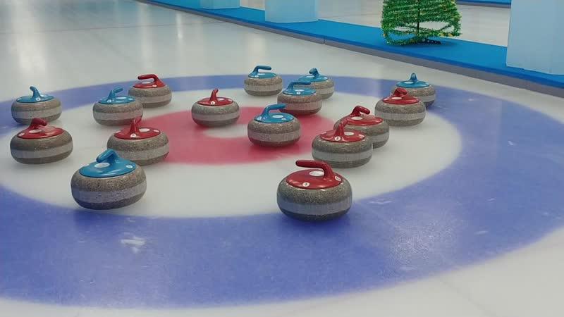Adele challenge curling