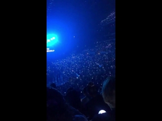 """(fancam) 180909 ARMY Bomb Wave @ BTS World Tour """"LOVE YOURSELF"""" in Los Angeles Day 4"""