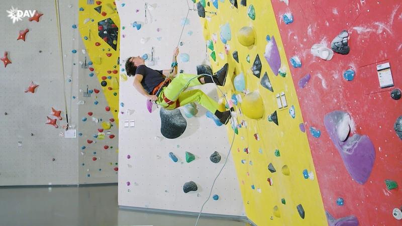 Sicher Klettern Dynamisches Sichern