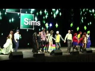 Сценка по игре The Sims и телесериалу Breaking Bad  Команда «Синкансэн»