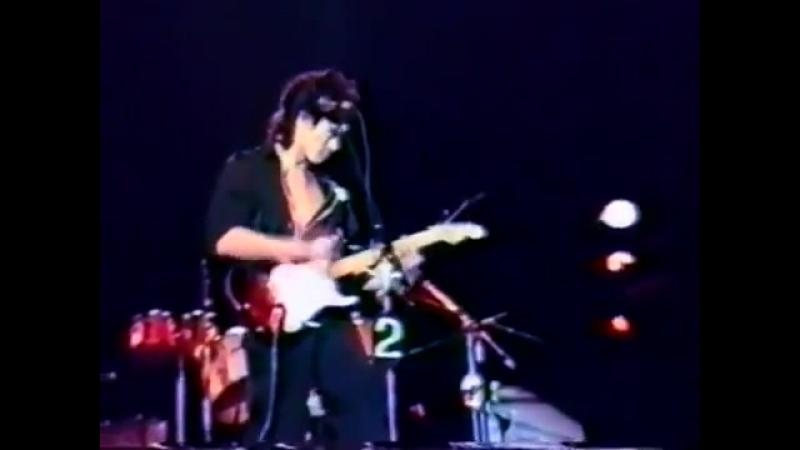 ✩ Группа крови Рок фест 1987 Виктор Цой Кино
