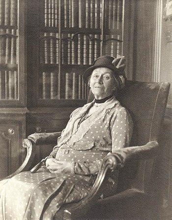 На фото английская старушка, которая стала прототипом «Алисы в Стране чудес»