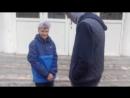 фейловый дубль при съёмке видео про школьные годы