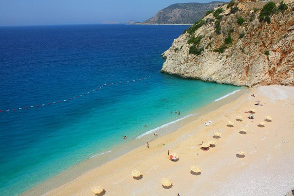 Капуташ, поселок Каш. Топ-5 лучших песчаных пляжей Турции