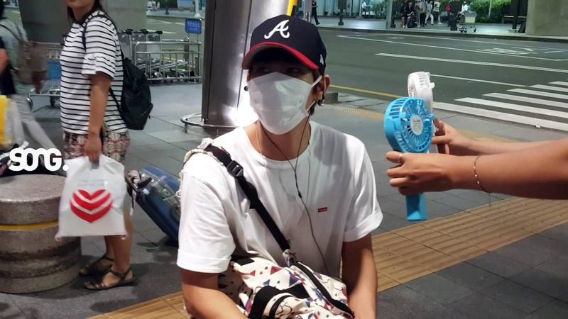 160731 인천공항 입국 히스토리 송경일♥