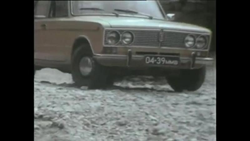 Наденька едет к Лукашину на машине Ипполита