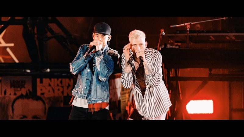 Linkin Park Machine Gun Kelly - Papercut (Live Hollywood Bowl 2017)