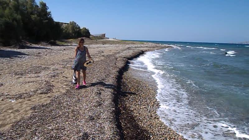 Море между Коринфом и Лутраками 3 сентябрь2018