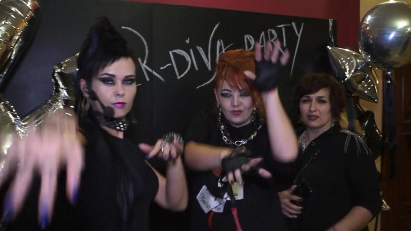 1год вечеринка Rock-diva-party