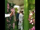 SRK and Gauri Khan at Akash Ambani and Shloka Mehta's wedding in Mumbai