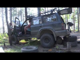 Наш фильм Дорогами БАМа 2011 г.  на Extreme 4x4 от Алексея Камерзанова