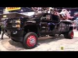 2017 Chevrolet Silverado 2500 Custom Truck - Walkaround - Cooper Tires Stand at 2017 SEMA