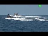 Российские военные отработали бой с пиратами в Средиземном море