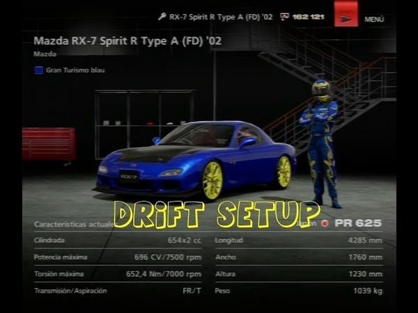 Gran Turismo 6 Drifting Setup Mazda RX-7 FD´02