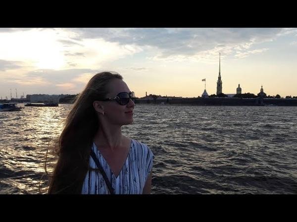 Летний Санкт-Петербург. Белые ночи в июле.