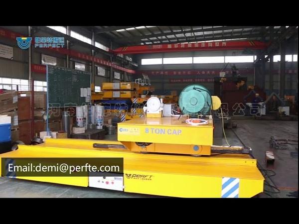 Customized Industrial Platform Ferry Battery Powered Cart Car For Transport Aluminum Coil