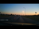 Суперболид в небе над Курской областью 21 июня 2018 года