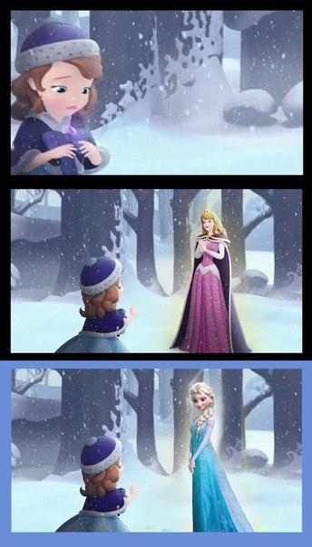 Макияж принцессы софии