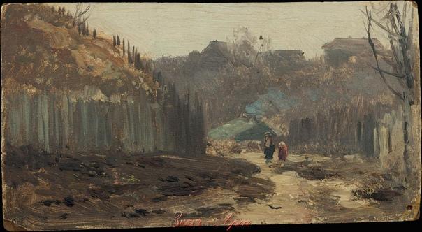 Владимир Карлович МЕНК (род. 13 февраля в Архангельске 18561920 ) русский художник-пейзажист и график, педагог. Выходец из купеческой семьи, он в 1876-1878 годах обучался в рисовальной школе ТПХ