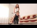 ride the stylish Italian ponygirl on all-fours